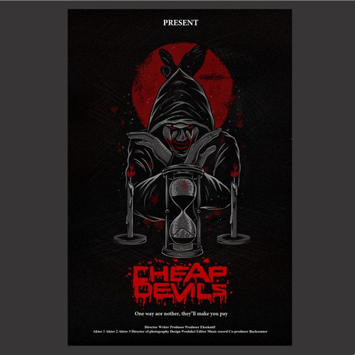 Scary poster