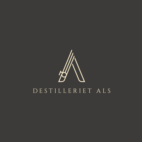 Logo concept for a nordic drink company