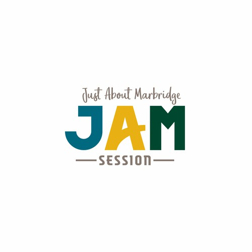 Bold and Fun Logo for JAM (Just About Marbridge) Session