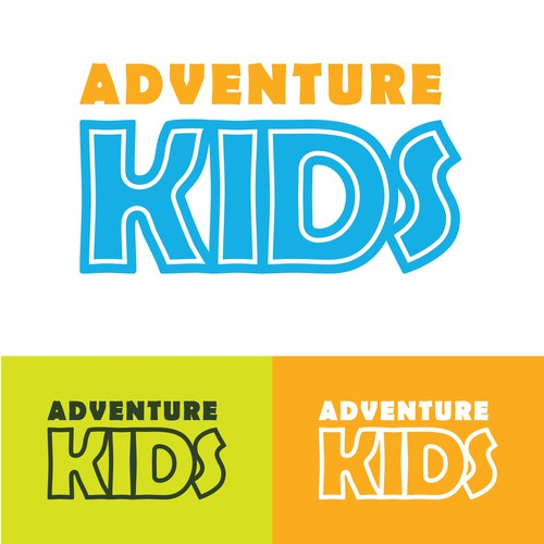 Bright Colors for a Fun Kids Logo