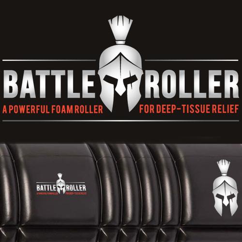 Logo for the fitness roller