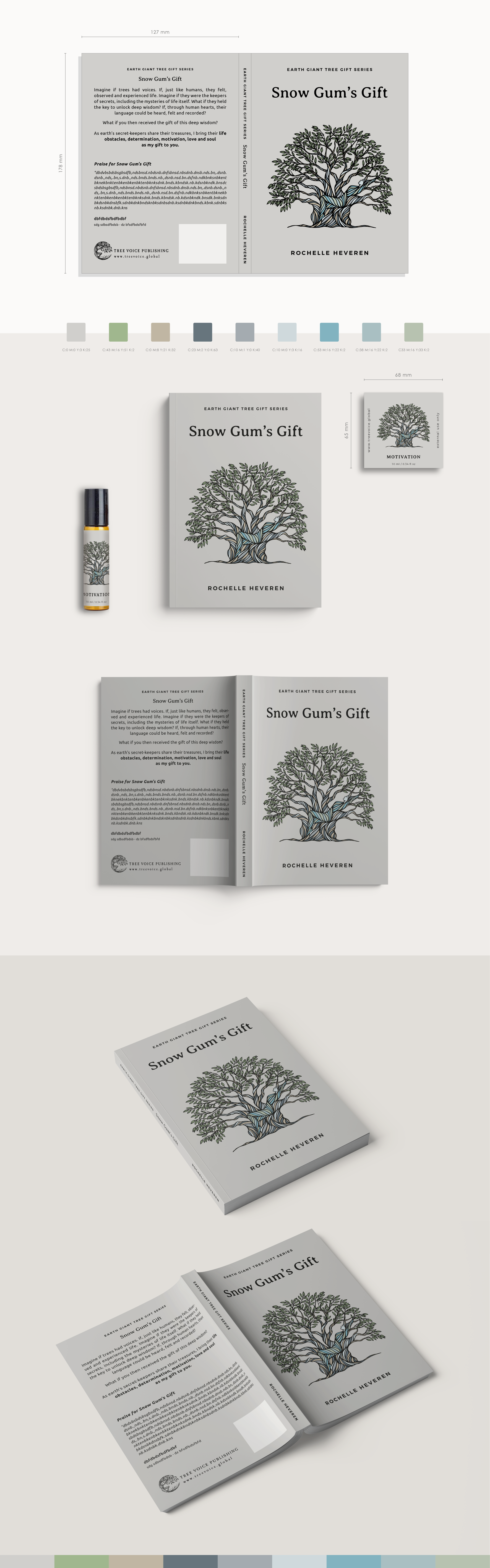 Earth Giant Tree Gift Series - the next 4 trees.