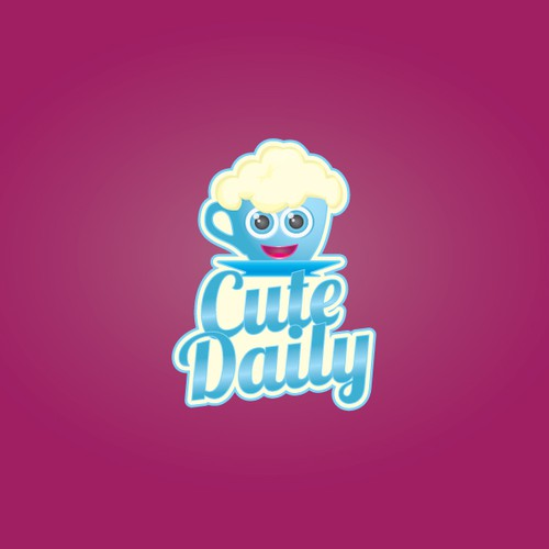 CuteDaily needs a CUTE logo! GIRLS ONLY! and brave men are welcomed..