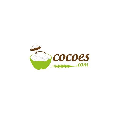 Coconut logo for cocoes.com