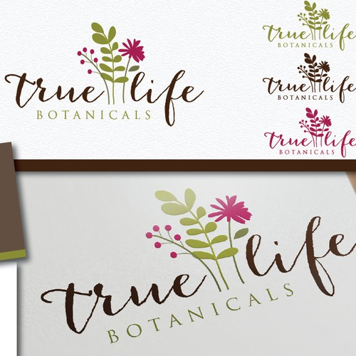 Create the next logo for True Life Botanicals