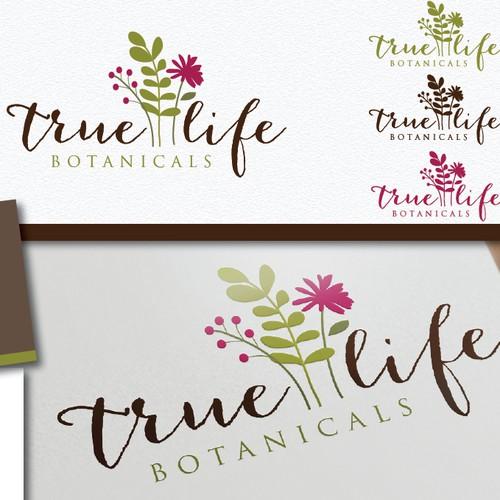 为真正的生活植物创建下一个徽标
