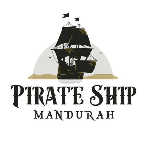 Logo for a Pirate Ship Tourism business