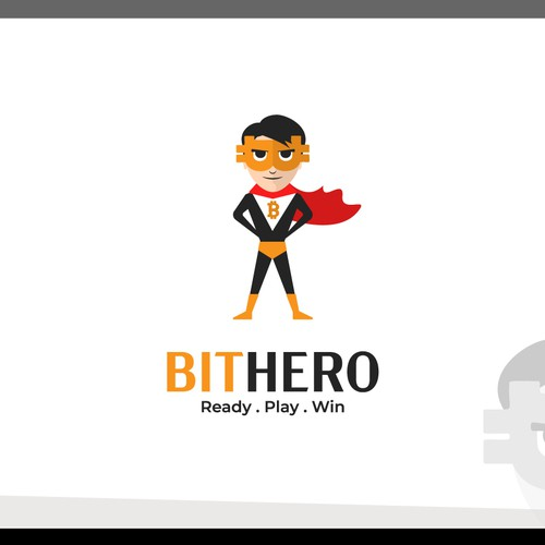 Fun logo for BITHERO!