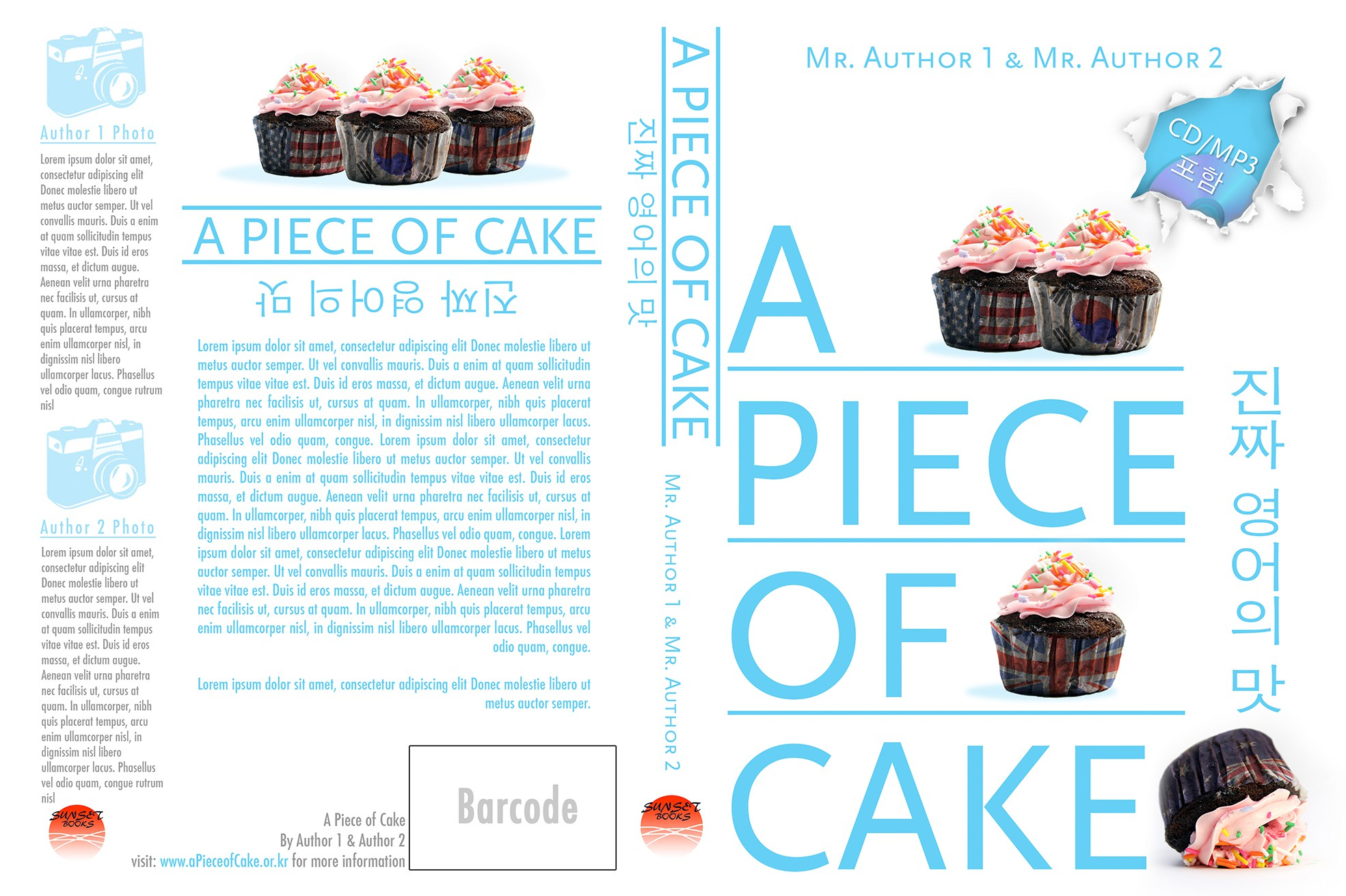 Fresh book cover design wanted for language learning paperback book