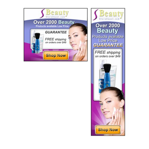 BeautyStoreDepot.com needs a new banner ad
