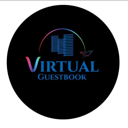 Modern Logo for Virtual Guestbook