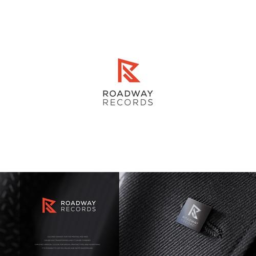 "Modern minimalist concept. Letter ""R"""