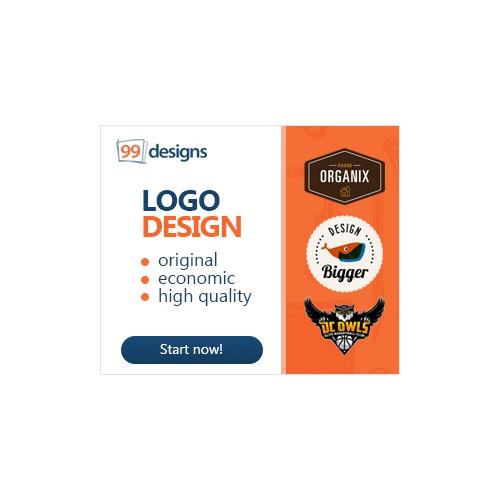 99designs needs visually stunning banner ads!