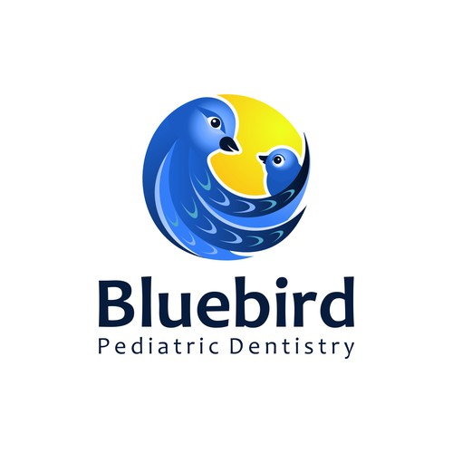 Playful and fun logo for a pediatric dentistry
