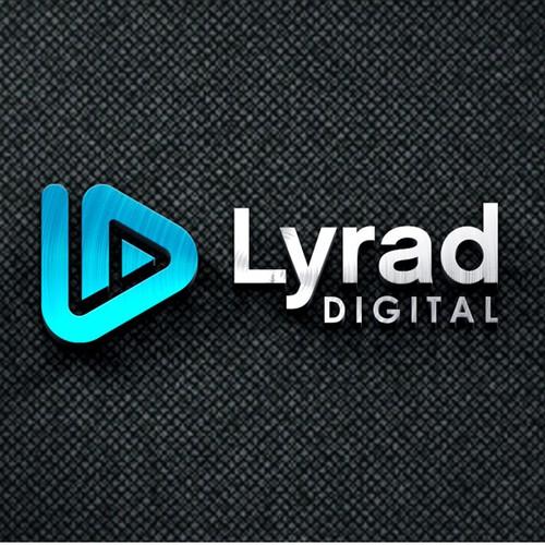 Lyrad Digital Simple Logo