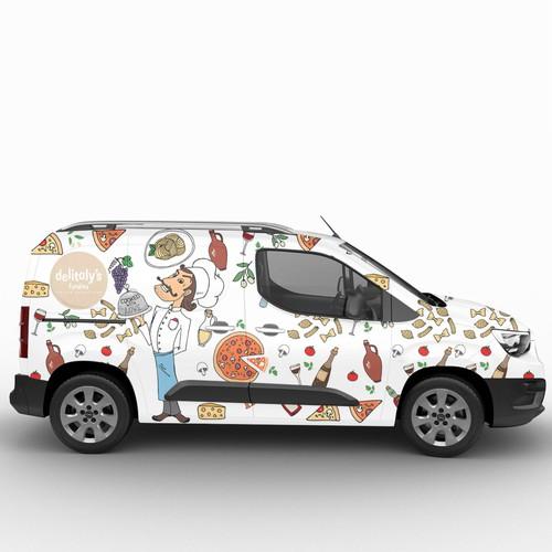 Streetfood Mini Van