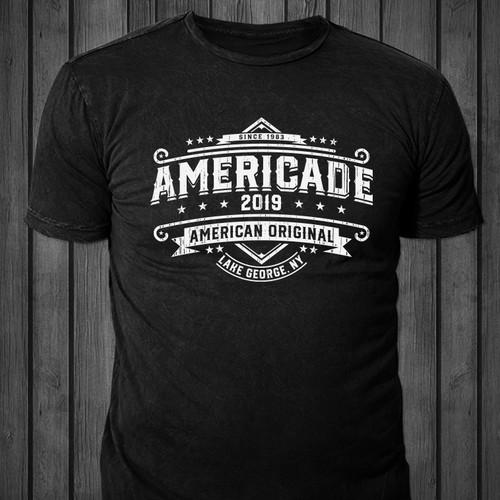 Americade t-shirt design