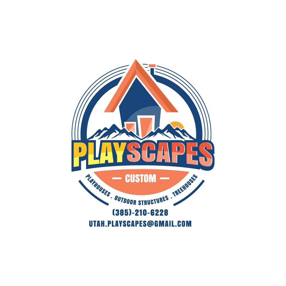 LOGO - We design and build rustic, beautiful playhouses, tree houses and outdoor structures