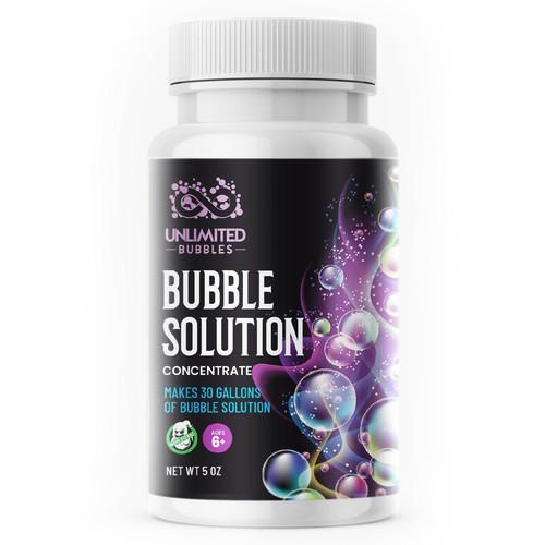 Bubble label