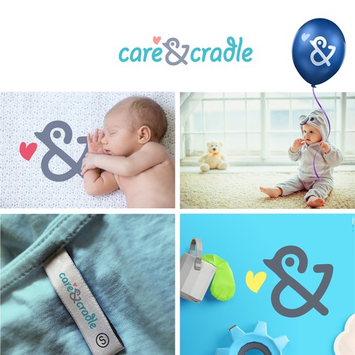 Logo for for baby products company
