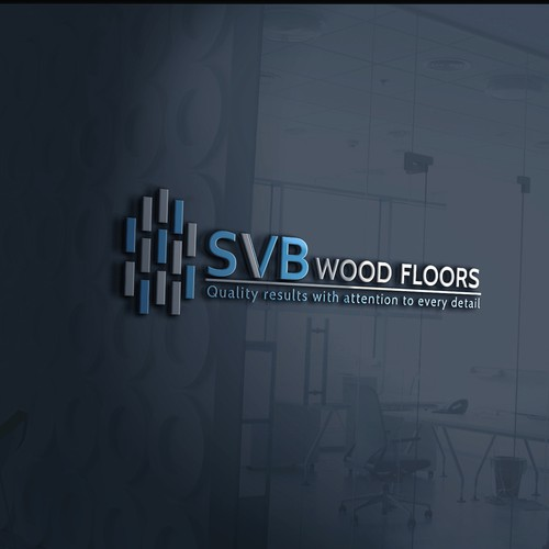 Logo design for a hardwood floor installation and finishing company
