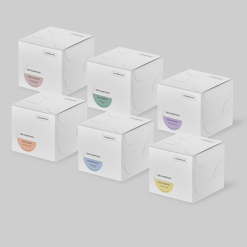 Family Packaging Design for Candles