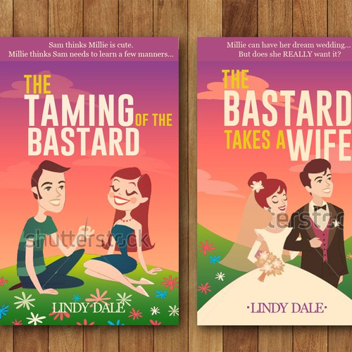 Create Exciting New Book Covers for an Existing Romantic Comedy Series