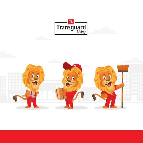 Lion Character Design