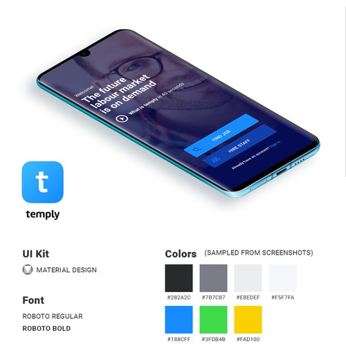 Temply - Job and Employee Search App