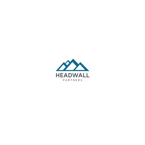 modern sophisticated design for HeadWall Partners.