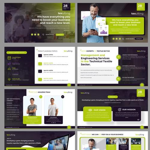 Consulting Company Business Presentaiton