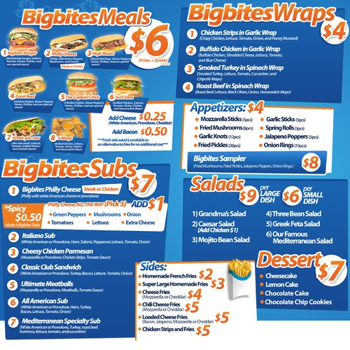 Bigbites Flyer
