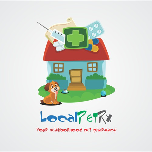Logo for pet pharmacy.