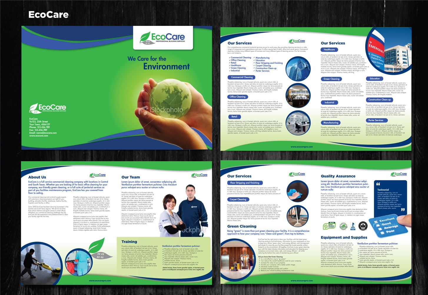EcoCare needs a new Brochure