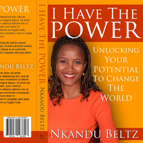 Book Cover design For Nkandu Beltz