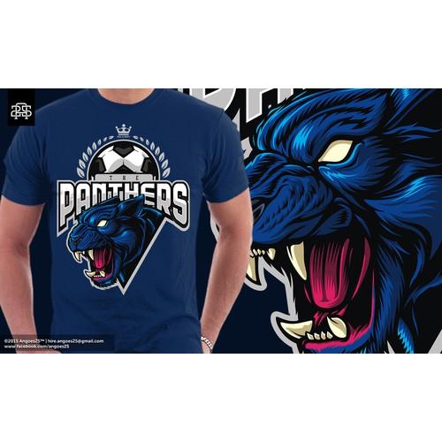 Panthers Tshirt design