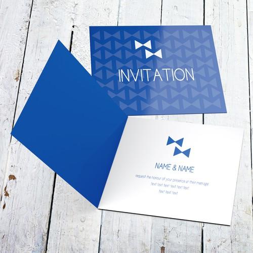 Same-sex wedding invitation