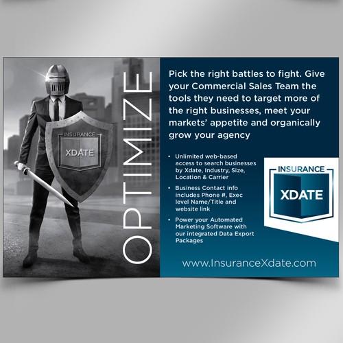 Half Page Magazine Ad for InsuranceXdate.com