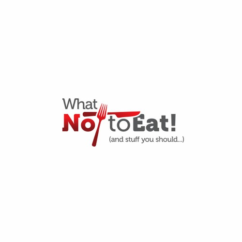 Help What Not To Eat!  with a new logo