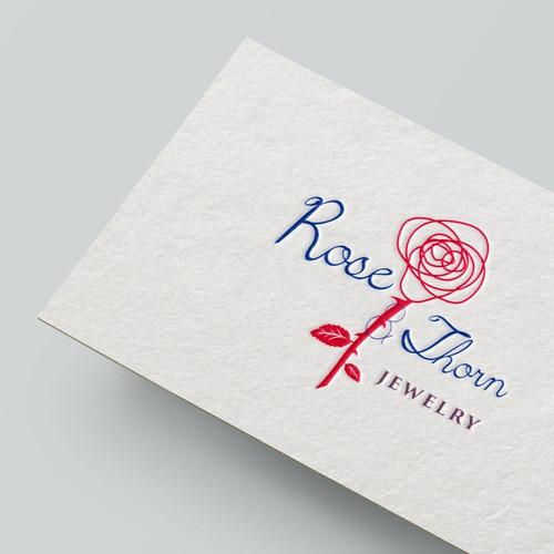 elegant logo for jewelry company