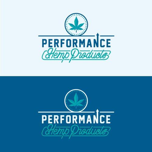 Organic logo for a CBD Company