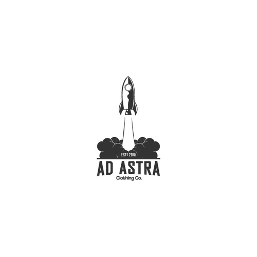Logo concept for AD ASTRA