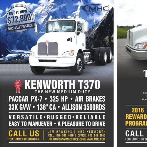 Flyer for truck