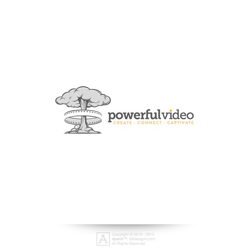 Help Powerful Video with a new logo and business card