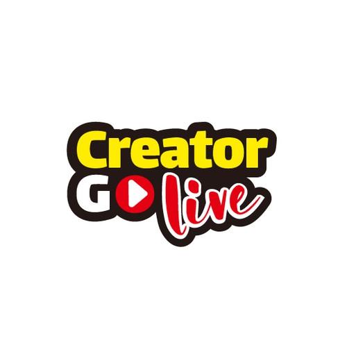 creator go live, youtube logo