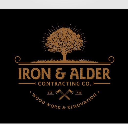 Iron & Alder Wood