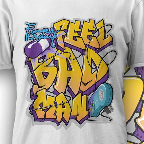 graffiti word for tshirt
