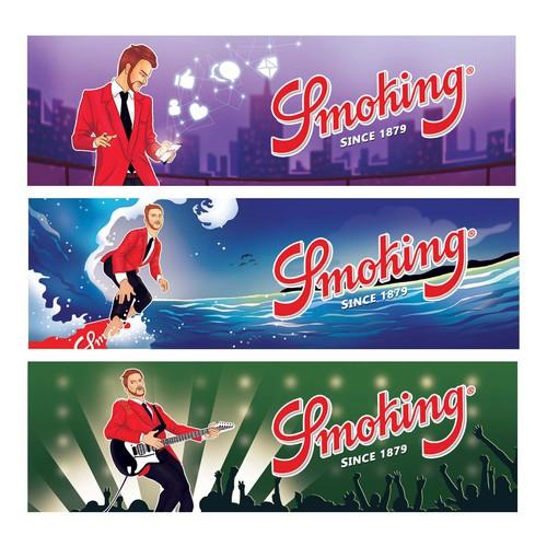Smoking Secondary Illustrations