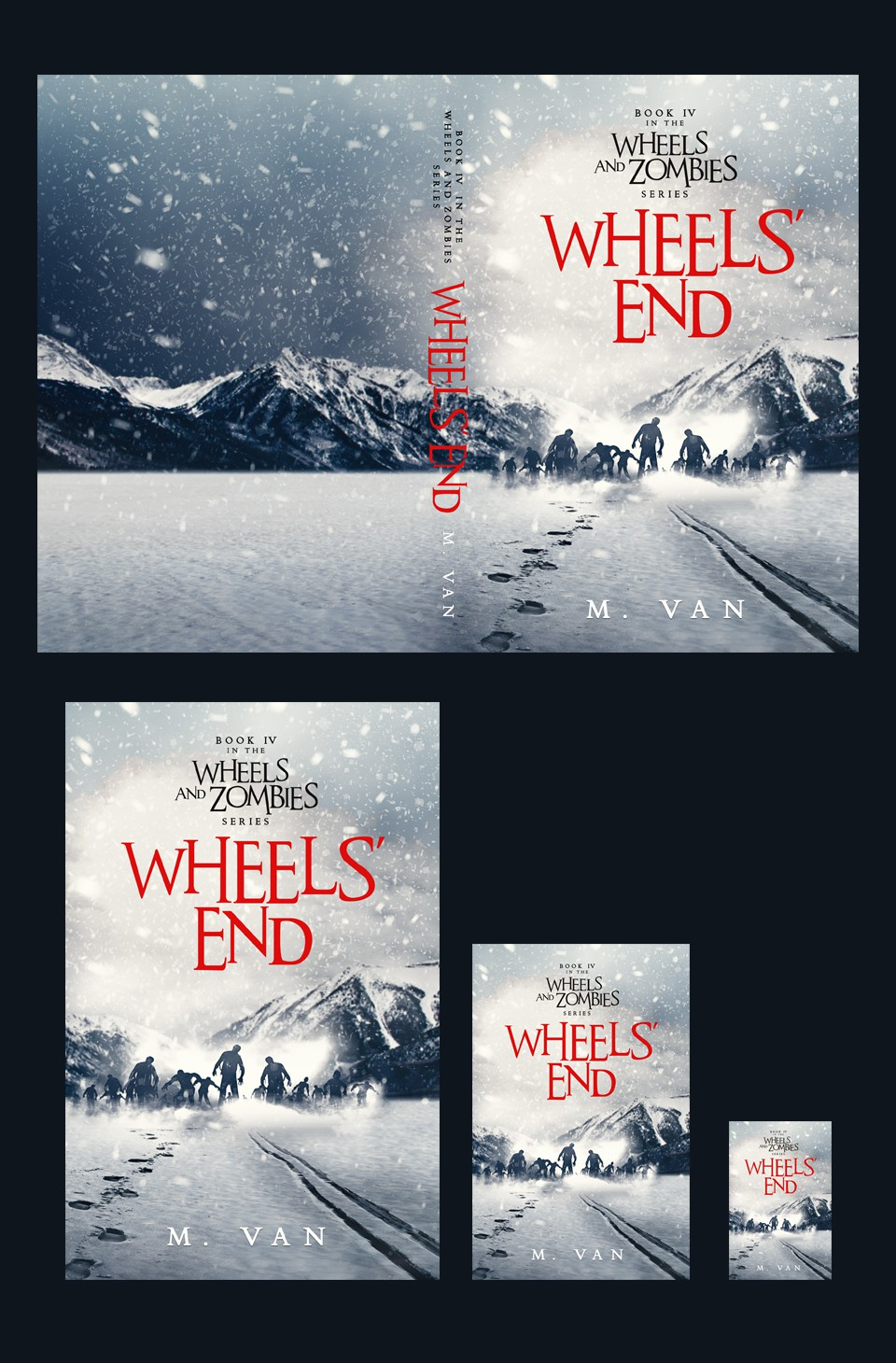 Cover Final book Wheels and Zombies series