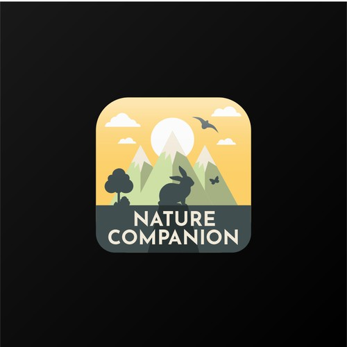 Concept for a nature app icon